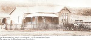 The first house on Saratogo Ave Doornfontein 1887
