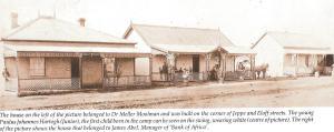 Johannesburg corner of Jeppe & Eloff street 1887