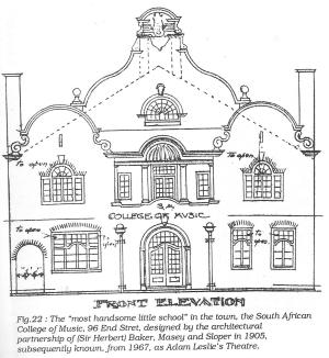 96 End Street front elevation drawing