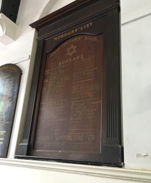 IH Harris school honours list