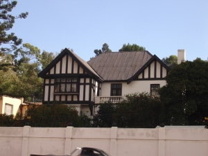 Last house on Charlton Terrace Doornfontein