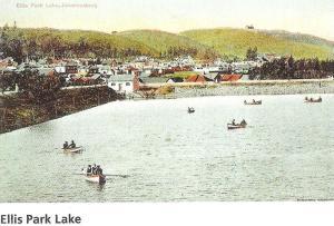Ellis Park Lake early 1900s
