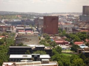 View of Doornfontein from 2011