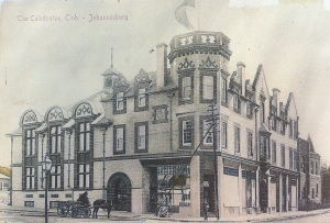 Early postcard of the Caledonian Club early 1900s