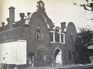 96 End Street from around late 1960s showing the gabled brick work