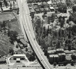 Harrow Road flyover from late 1960s