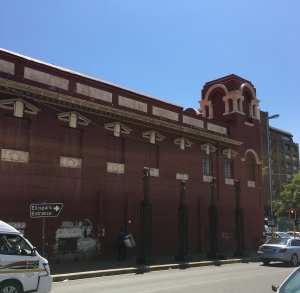 Side view from Beit Street 2016