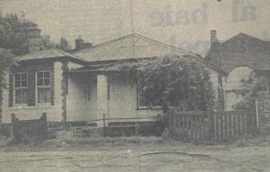 Van Wouw house in the 1970s