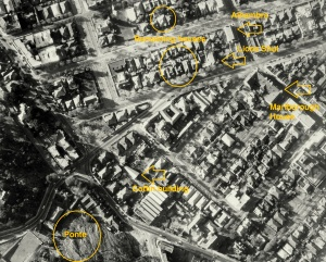 Aerial shot of Harrow road area from the late 60s showing Marlborough House position and others mentioned in the various Doornfontein posts