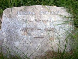 Aleida Roorda grave stone