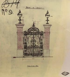 Friedenheim gates design