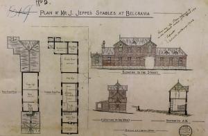 Friedenheim stables plan