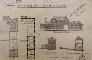 Friedenheim stables plan