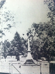 Jeppe monument from early 1900s