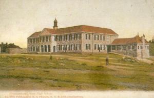 Jeppe Boys High School around 1910