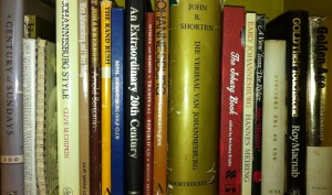 Some of my Johannesburg reference books