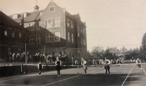 St. Mary's tennis courts c1920