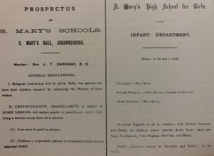St Mary's school prospectus