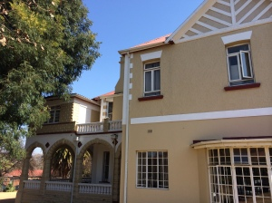 Thabana House side view