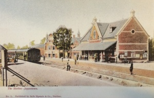 First Jeppe station