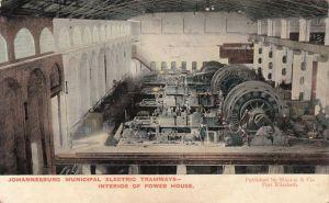 Tramways power house in Newtown