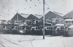 No. 2 tram shed in Newotwn