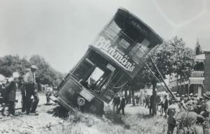 Derailed Bez Vally tram Johannesburg