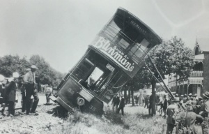 Derailed Bez Vally tram Johannesburg