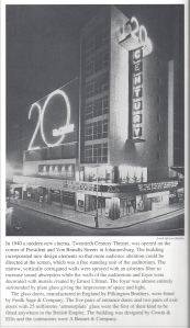 20th Century at night