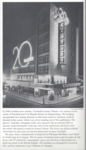 20th Century at night