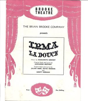 Irma La Douche at Brooke Theatre