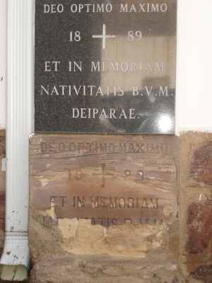 St Mary the less foundation stone