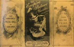 1898 program from Empire Palace of Varieties