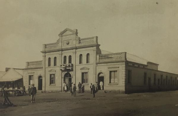 First Globe Theatre 1889