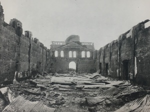 Globe Theatre after the 1889 fire