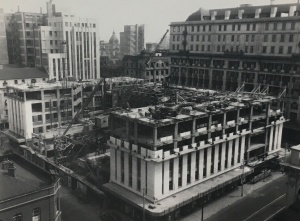 New His Majesty's Theatre being built in 1940