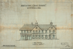 Grand Station Hotel plans