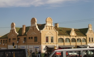 Corner shot of the Grand Central Hotel 2011