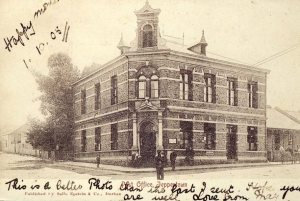 Jeppestown Post Office early 1900s