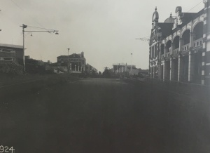 Main Street after subway removed