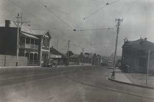 Main Street after subway removal