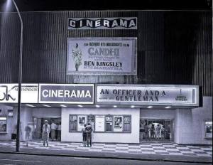 Cinerama in the early 1980s