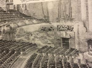 Inside the Colosseum 1934