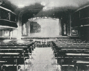 Interior of first Globe Theatre Johannesburg