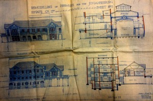 Palladium Theatre plans from 1912