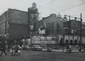 Standard Theatre being demolished 1959