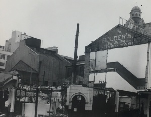 Standard Theatre being demolished