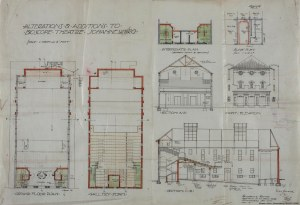 Plans for the alterations