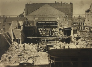 Old His Majesty's being demolished in 1937