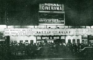Royal Cinerama in Orange Grove closed in 1980s to become a TV studio. It's a stones throw from the Radium